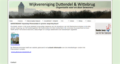 Preview of duttendelwittebrug.nl