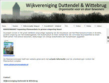 Tablet Preview of duttendelwittebrug.nl